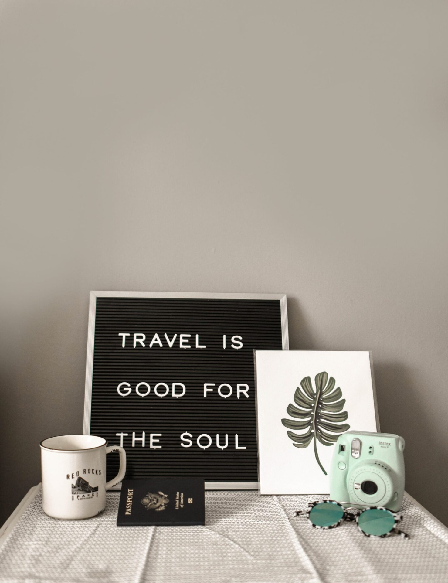 Travel is good for the soul photo